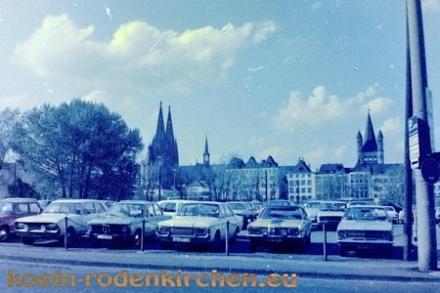 Köln Rodenkirchen: Parken am Dom