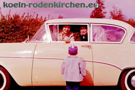 Köln Rodenkirchen: Urlaubsreise 1960