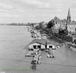 Rodenkirchener Bootshäuser 50er Jahre