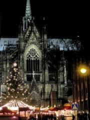 Weihnachtsmarkt am Kölner Dom