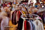 Flohmarkt - Langzeitbelichtung - Lochkamera