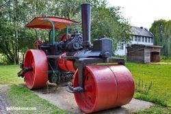 Dampfwalze, historisch