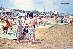 Strandurlaub Riccione in den, 1957