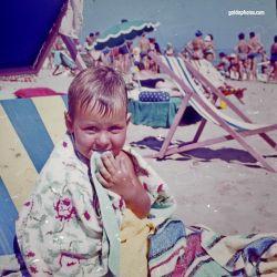 Strandurlaub Riccione in den 1964