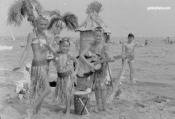 Strandurlaub Riccione in den 1965