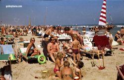 Strandurlaub Riccione in den 1968