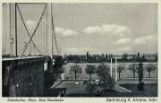 Rodenkirchen Autobahnbrücke A3/A4 Postkarte 1960er