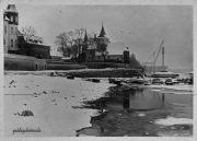 Rodenkirchen alte Kirche Autobahnbrücke A3/A4 1941