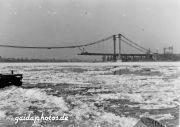 Rodenkirchen Autobahnbrücke A3/A4 Wiederaufbau 1954