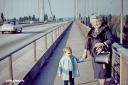 Rodenkirchen Autobahnbrücke A3/A4 1961