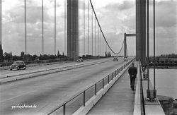 Rodenkirchen Autobahnbrücke A3/A4 1960er
