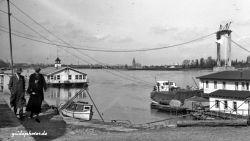 Rodenkirchen Autobahnbrücke A3/A4 1954