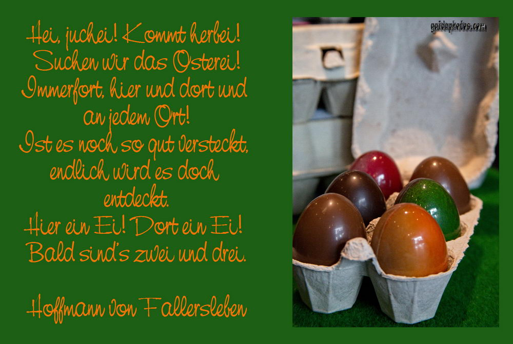 Osterkarten Ostern