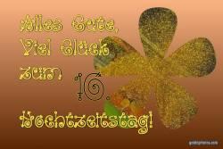 Rosenhochzeit, Goldkonfetti