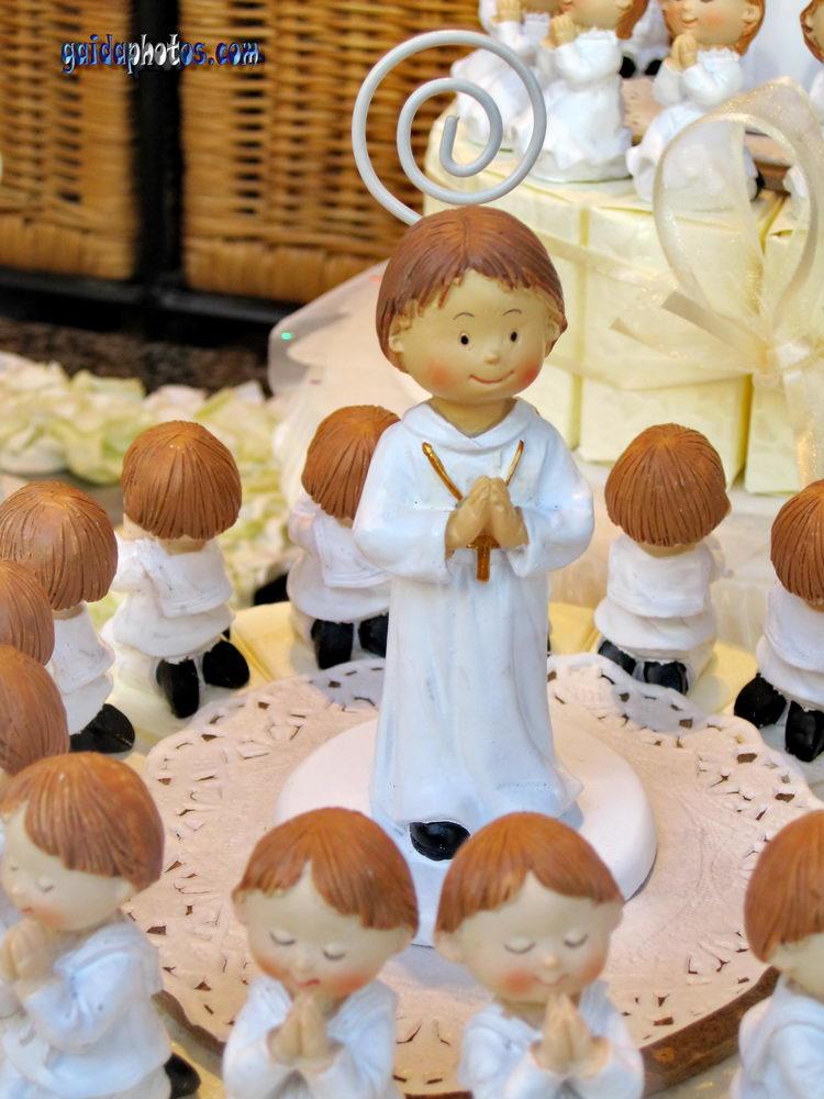 Kommunion, Konfirmation, Junge, Gebet