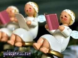 Desktop Hintergrund Weihnachten Chor der Engel