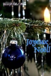 Französische Weihnachtskarte