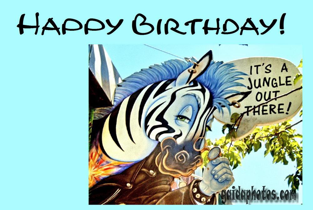 Geburtstagskarten zum ausdrucken