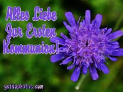 Kostenlose Kommunionskarten