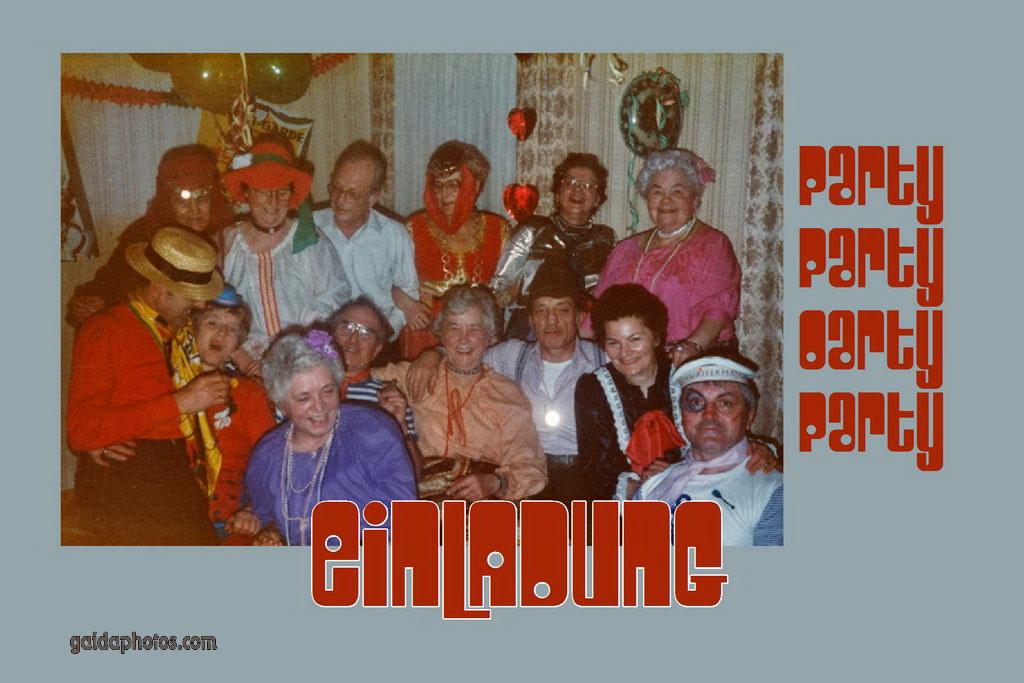 Lustige Einladungskarten - gaidaphotos Fotos und Bilder