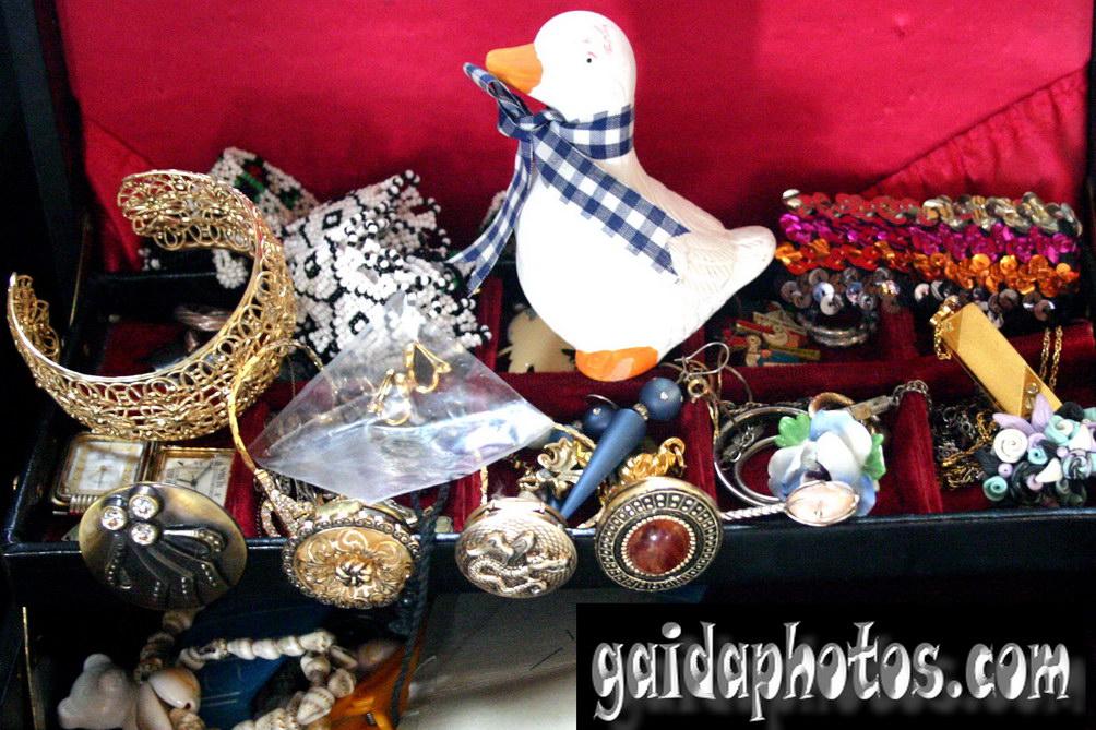 Motive für Geburtstagskarten, Ente, Schmuck