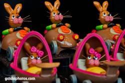 Osterhase Kinder Kinderwagen
