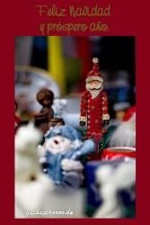 Spanische Weihnachtskartte