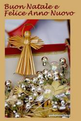Weihnachtskarte Italienisch