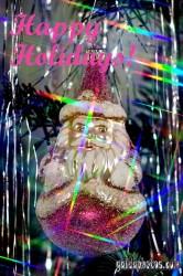 Englische Weihnachtskarte
